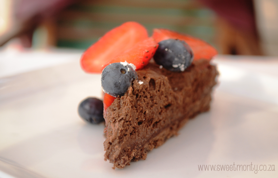 Chocolate Mouse Tart
