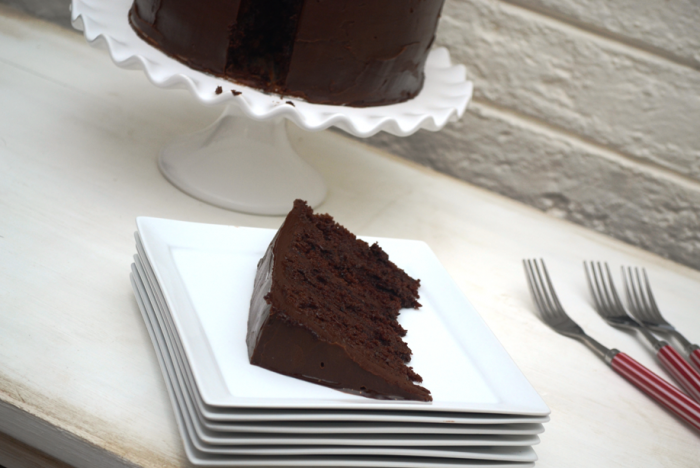 Heavenly Chocolate Ganache Cake